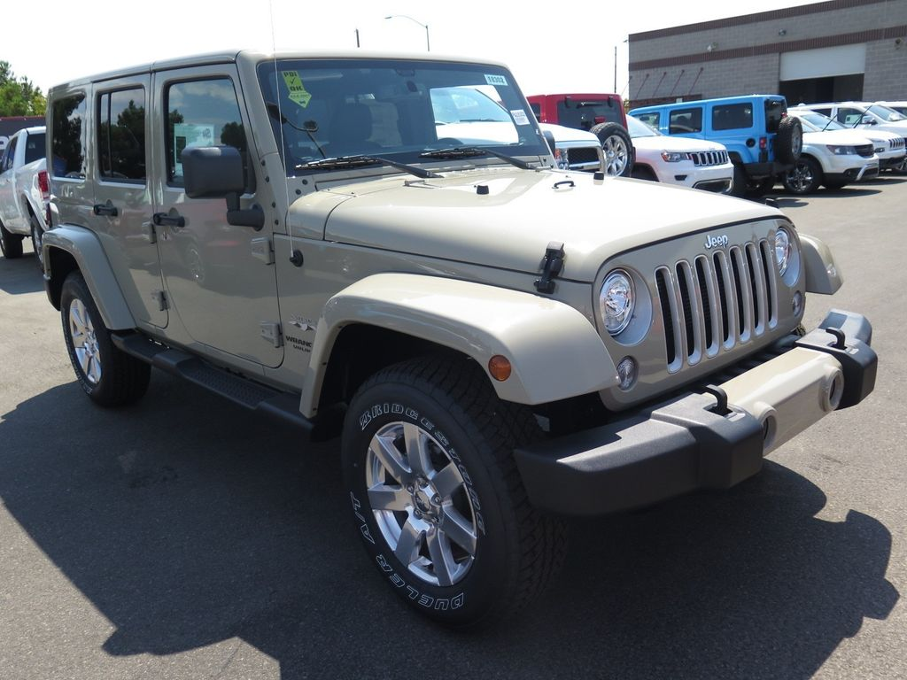 2017 Jeep Wrangler Unlimited Sahara 4x4 - 16731770 - 2