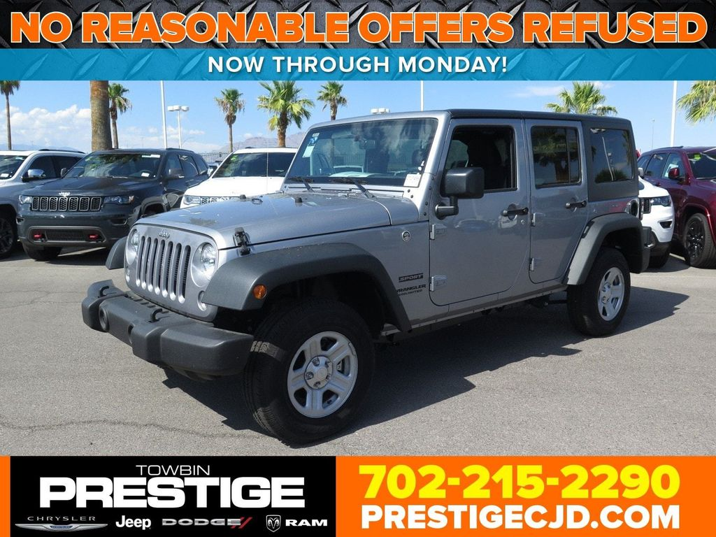 2017 Jeep Wrangler Unlimited Sport 4x4 Suv For In Las Vegas Nv
