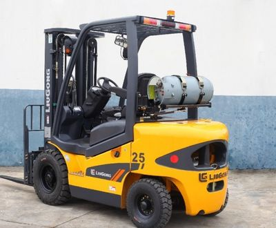 2017 Liugong CLG2025H 2025H 2.5T Dual Fuel Forklift