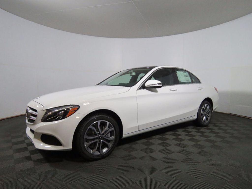 2017 Mercedes-Benz C-Class C 300 4MATIC Sedan - 16468411 - 2