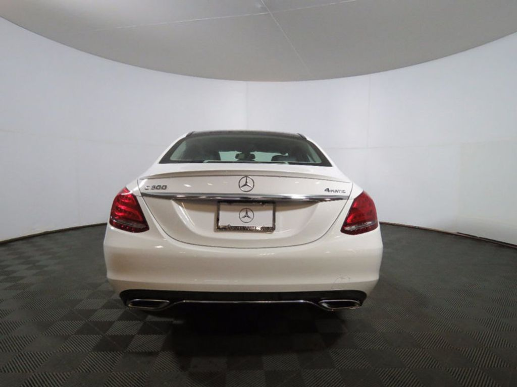 2017 Mercedes-Benz C-Class C 300 4MATIC Sedan - 16468411 - 5