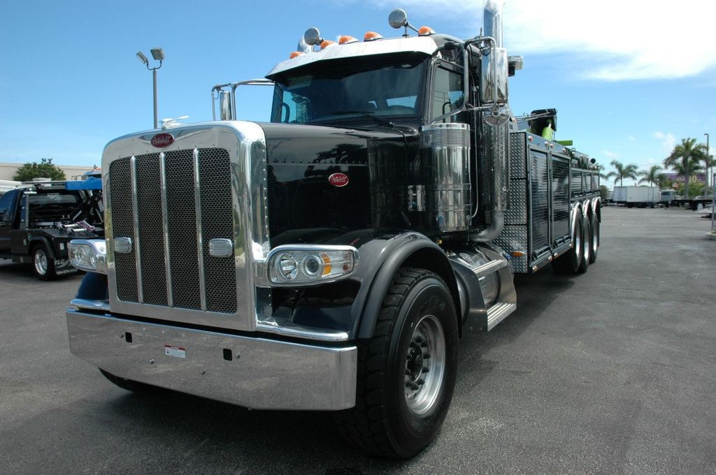2017 Peterbilt 389 ..TRI AXLE..JERRDAN 50TON JFB INTERGRATED ..JD50INT - 15513976 - 16
