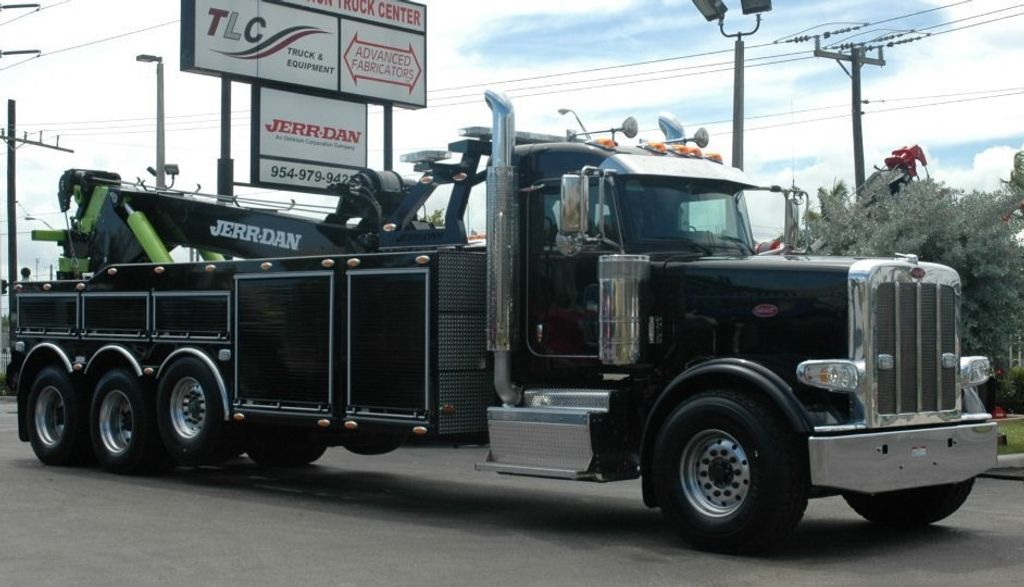 2017 Peterbilt 389 ..TRI AXLE..JERRDAN 50TON JFB INTERGRATED ..JD50INT - 15513976 - 1