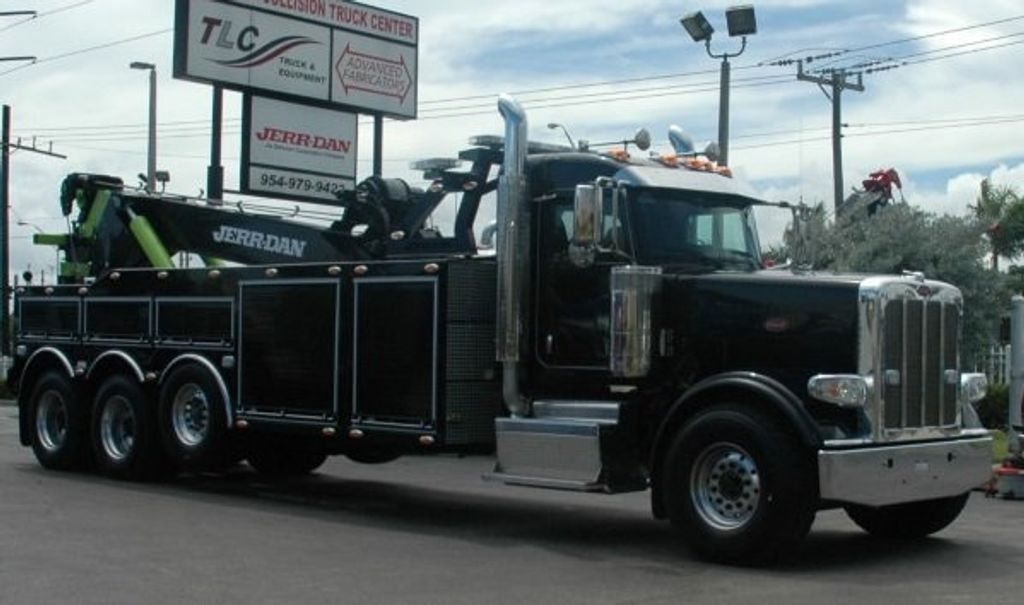2017 Peterbilt 389 ..TRI AXLE..JERRDAN 50TON JFB INTERGRATED ..JD50INT - 15513976 - 2