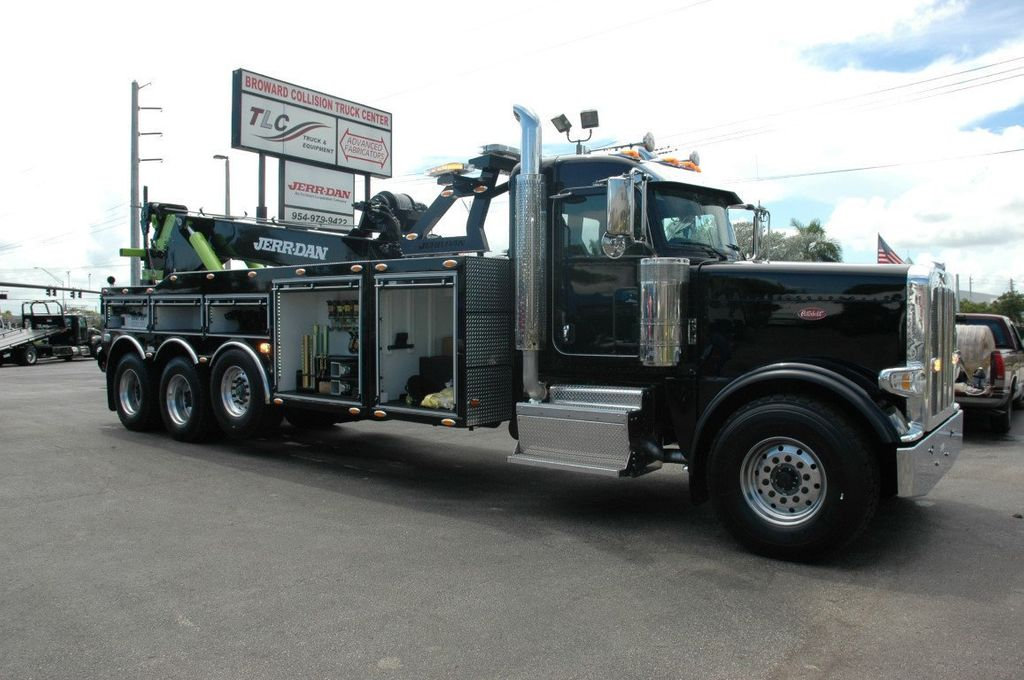 2017 Peterbilt 389 ..TRI AXLE..JERRDAN 50TON JFB INTERGRATED ..JD50INT - 15513976 - 30