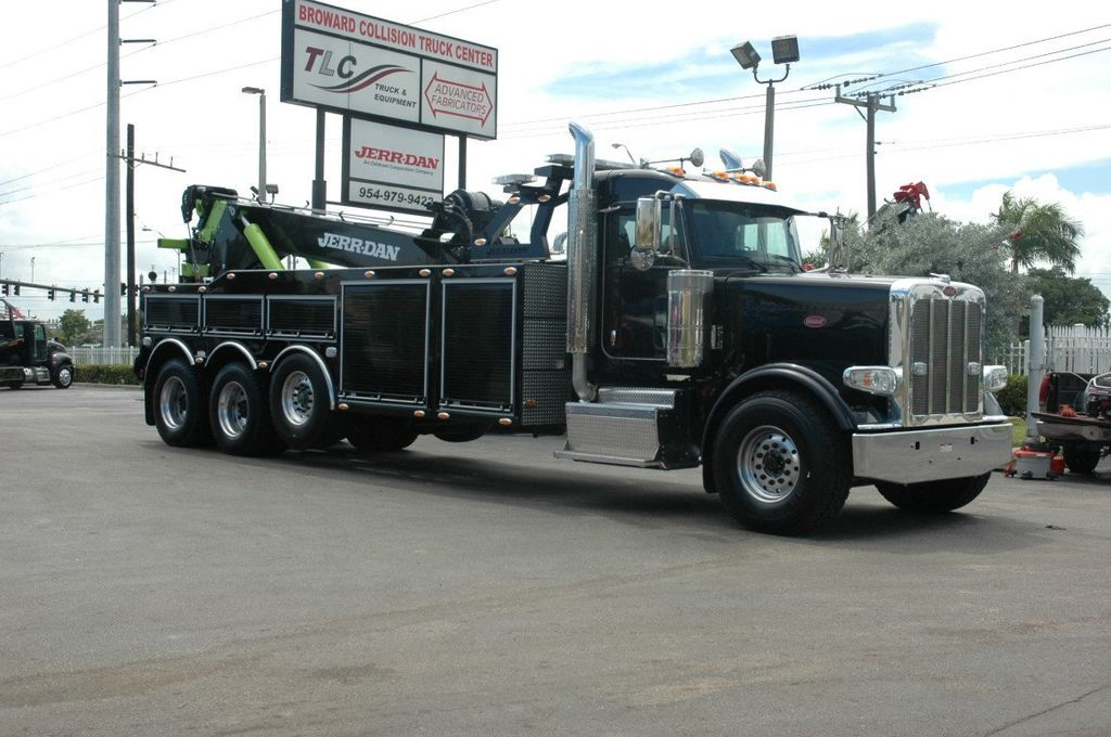 2017 Peterbilt 389 ..TRI AXLE..JERRDAN 50TON JFB INTERGRATED ..JD50INT - 15513976 - 3