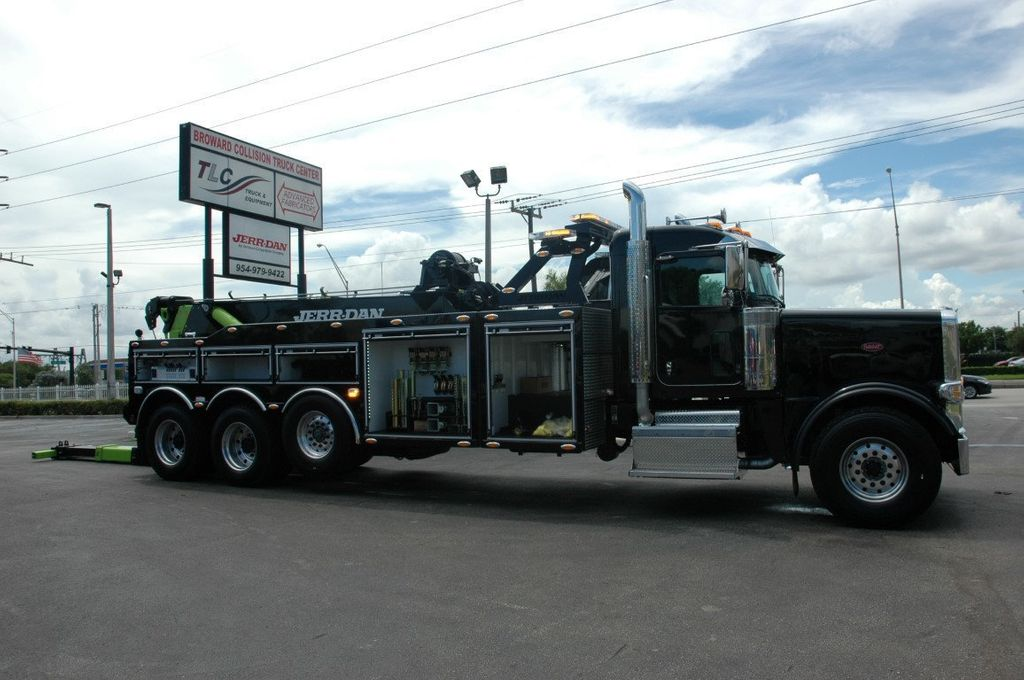 2017 Peterbilt 389 ..TRI AXLE..JERRDAN 50TON JFB INTERGRATED ..JD50INT - 15513976 - 45