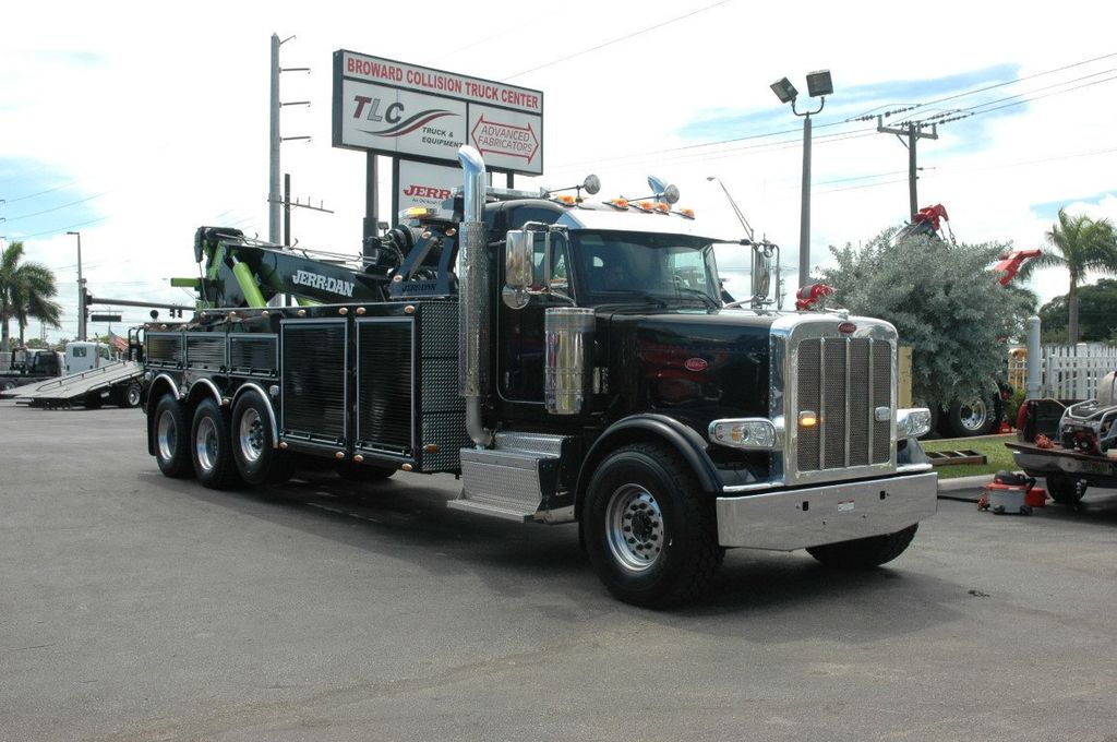 2017 Peterbilt 389 ..TRI AXLE..JERRDAN 50TON JFB INTERGRATED ..JD50INT - 15513976 - 4