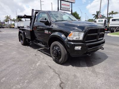 New 2017 Ram 4500 SLT. 4X2 JERRDAN MPL-NGS WRECKER..**BLACKOUT EDITION** Truck