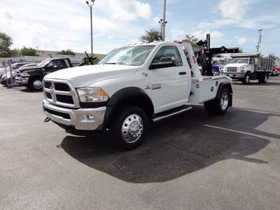 2017 Ram 4500 SLT.. 4X4 JERRDAN MPL-40 TWIN LINE AUTO LOADER WRECKER - Click to see full-size photo viewer