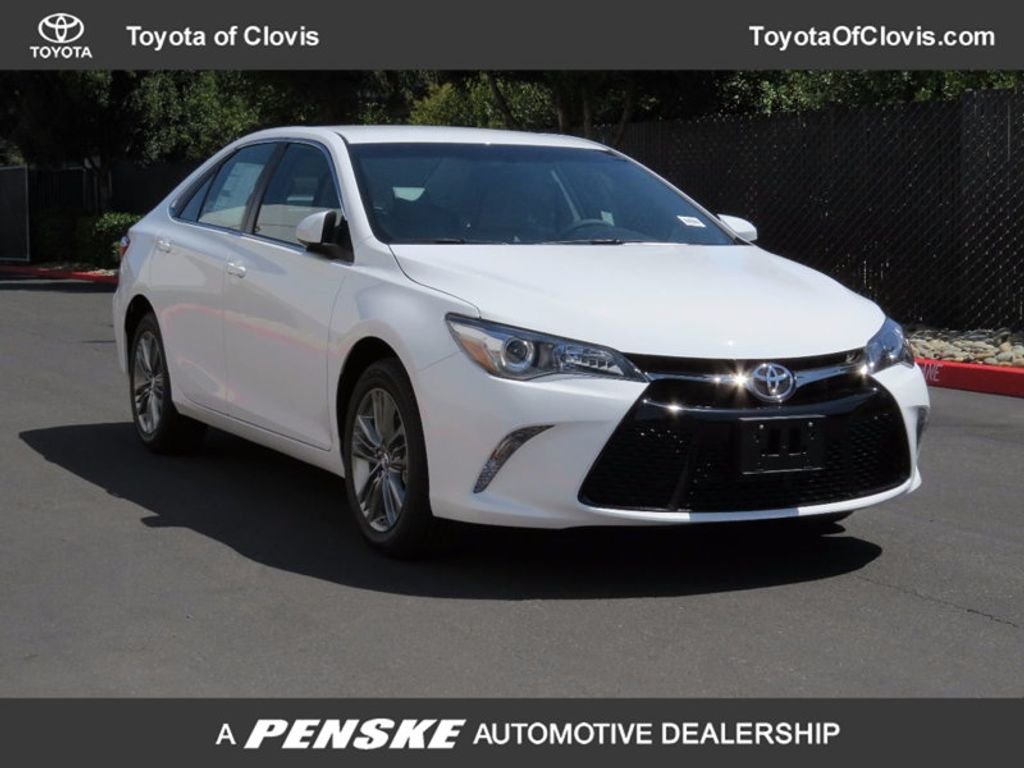 2017 Toyota Camry SE Automatic - 16488683 - 0
