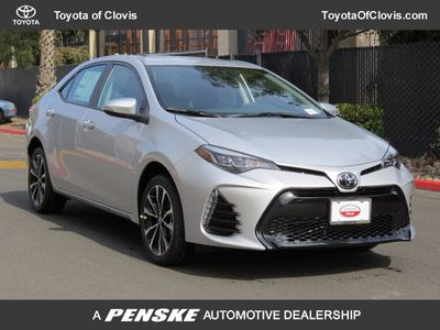2017 Toyota Corolla SE CVT Automatic Sedan