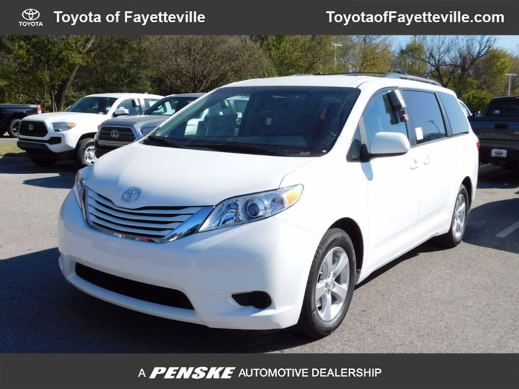 2017 New Toyota Sienna LE FWD 8 Passenger at Toyota of Fayetteville
