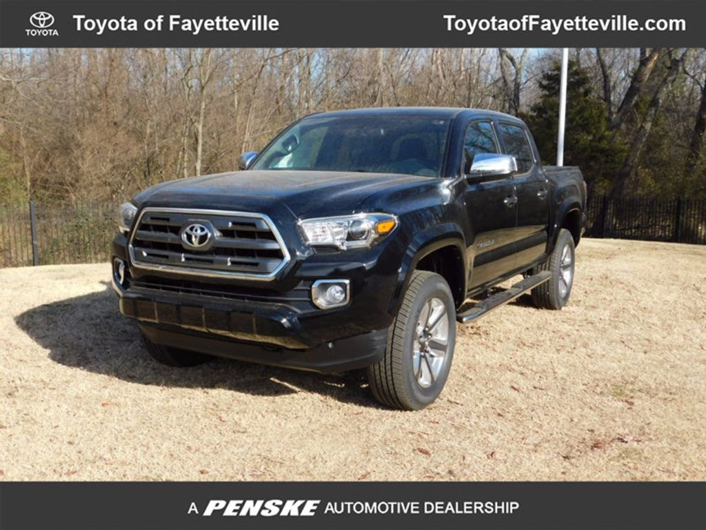 2017 Toyota Tacoma Limited Double Cab 5' Bed V6 4x4 Automatic - 15865414 - 0