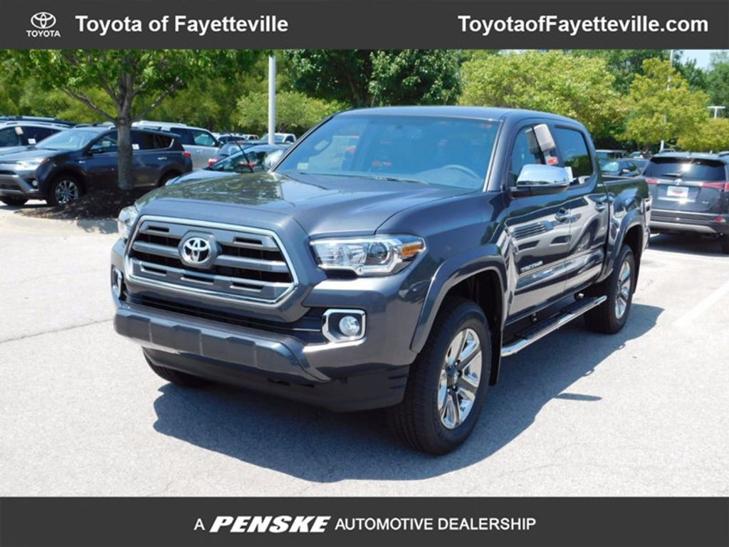 2017 Toyota Tacoma Limited Double Cab 5' Bed V6 4x4 Automatic - 16692902 - 0
