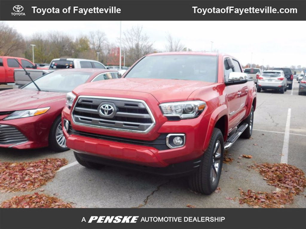 2017 Toyota Tacoma Limited Double Cab 5' Bed V6 4x4 Automatic - 17007990 - 0