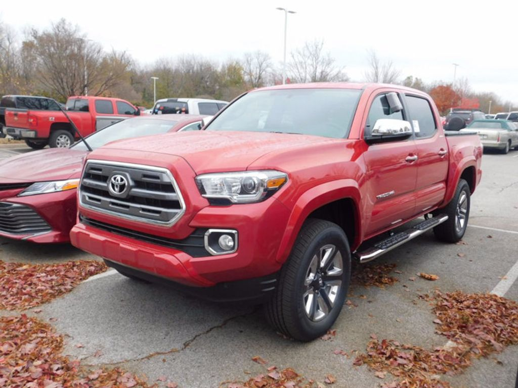 2017 Toyota Tacoma Limited Double Cab 5' Bed V6 4x4 Automatic - 17007990 - 1