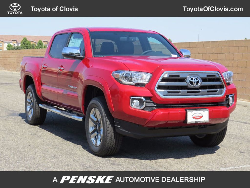 2017 Toyota Tacoma Limited Double Cab 5' Bed V6 4x4 Automatic - 16443844 - 0
