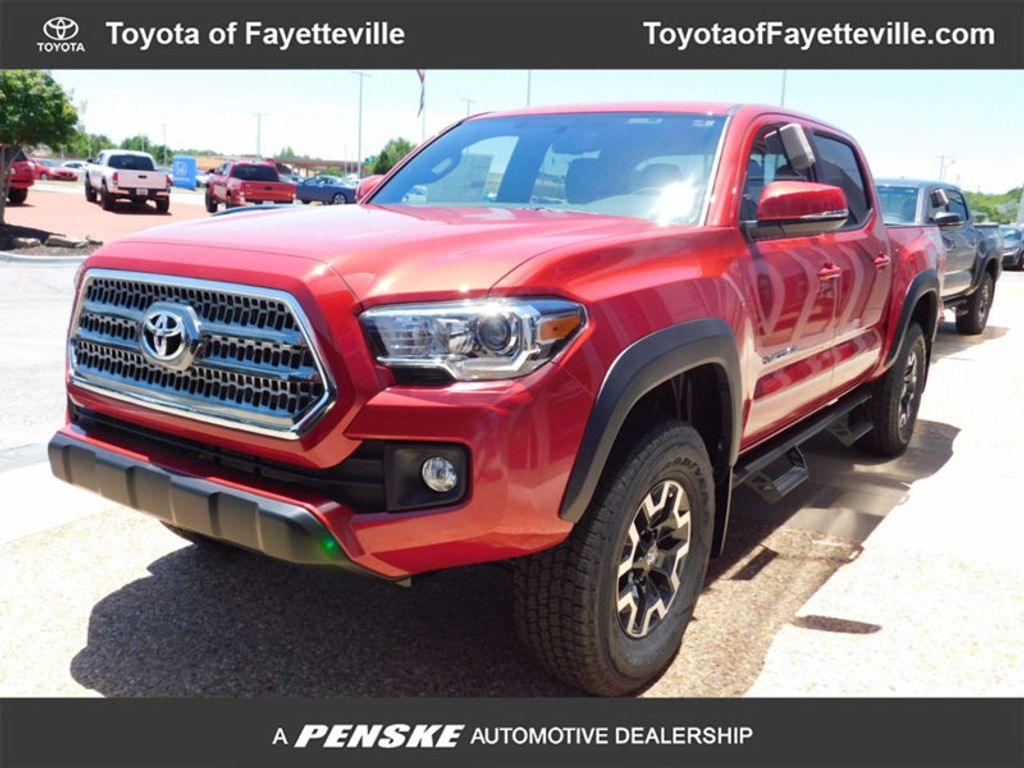 2017 toyota tacoma trd off road double cab 5 bed v6 4x4 automatic 16488310