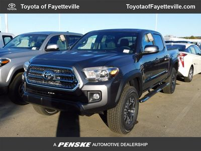 New 2017 Toyota Tacoma TRD Off Road Double Cab 5' Bed V6 4x4 Automatic Truck