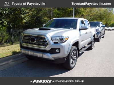 New 2017 Toyota Tacoma TRD Sport Double Cab 5' Bed V6 4x4 Automatic Truck