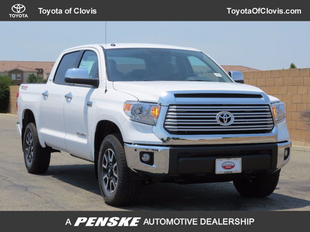 2017 Toyota Tundra 4WD Limited CrewMax 5.5' Bed 5.7L - 16599243 - 0