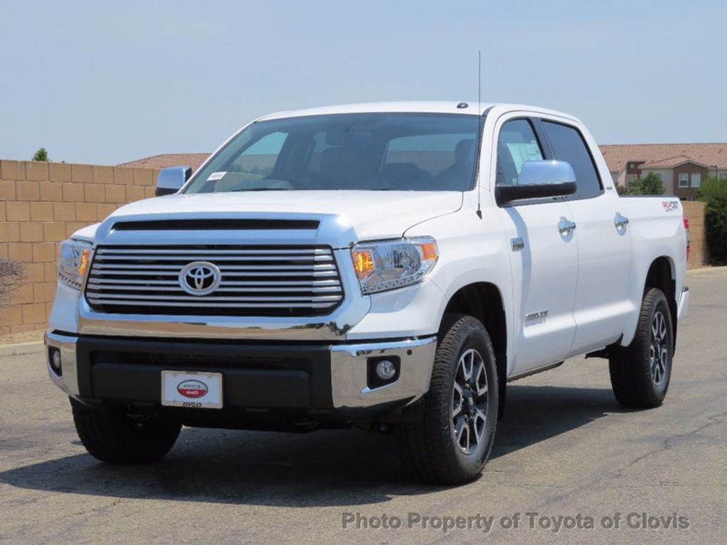 2017 Toyota Tundra 4WD Limited CrewMax 5.5' Bed 5.7L - 16599243 - 1