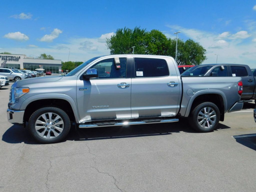 2017 new toyota tundra 4wd limited crewmax 5 5 39 bed 5 7l ffv at toyota of fayetteville serving. Black Bedroom Furniture Sets. Home Design Ideas