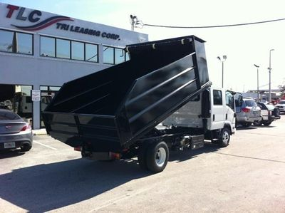 New 2018 ADVANCED FABRICATORS 14LD42S .. 14ft Steel Landscape Dump Body