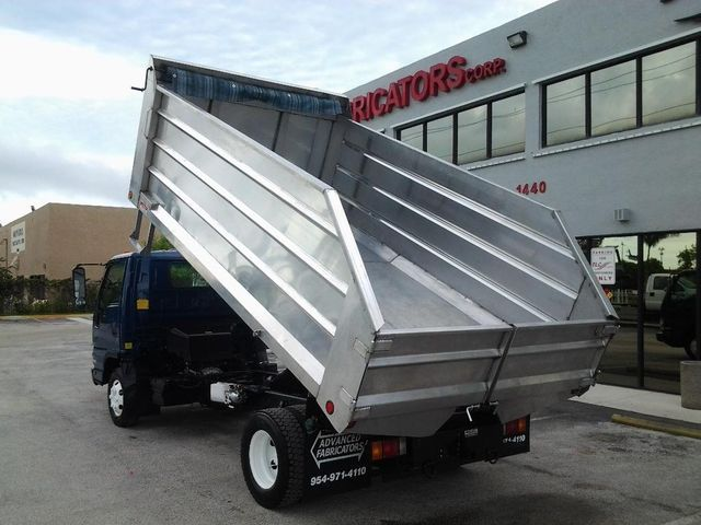 2018 ADVANCED FABRICATORS 14LD48A .. 14ft Aluminum Landscape Dump Body