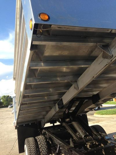 2018 ADVANCED FABRICATORS 14LD48A .. 14ft Aluminum Landscape Dump Body - Click to see full-size photo viewer