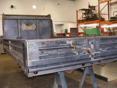 2018 ADVANCED FABRICATORS 14YB14S 14ft Steel YardBird Dump Body - Click to see full-size photo viewer