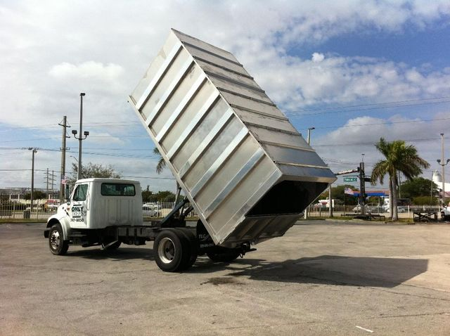 2018 ADVANCED FABRICATORS 16CHD72A ..16ft Aluminum Chipper Dump Body