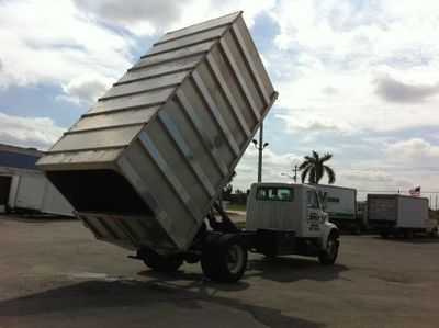 2018 ADVANCED FABRICATORS 16CHD72A ..16ft Aluminum Chipper Dump Body - Click to see full-size photo viewer