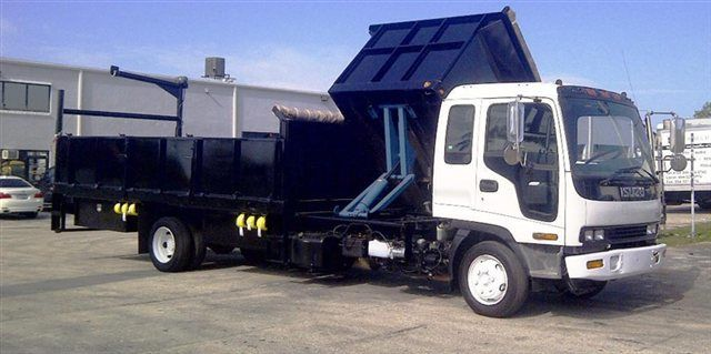 2018 ADVANCED FABRICATORS 18F24S.6D 18FT STEEL FLATBED WITH 24IN SIDES .6FT SIDE DUMPE - 15289511 - 0