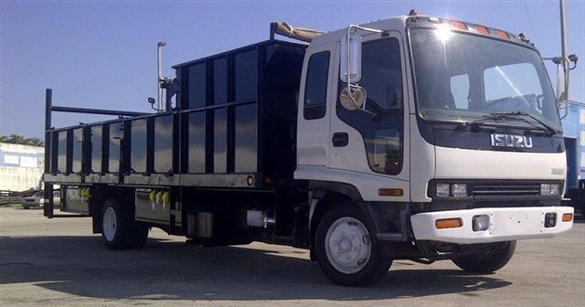 2018 ADVANCED FABRICATORS 18F24S.6D 18FT STEEL FLATBED WITH 24IN SIDES .6FT SIDE DUMPE - 15289511 - 2