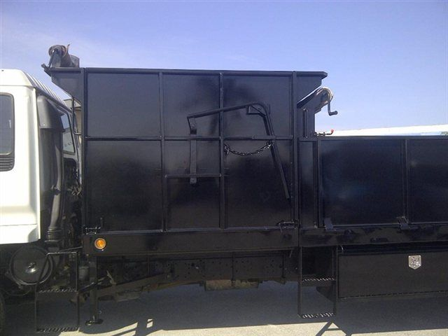 2018 ADVANCED FABRICATORS 18F24S.6D 18FT STEEL FLATBED WITH 24IN SIDES .6FT SIDE DUMPE - 15289511 - 5