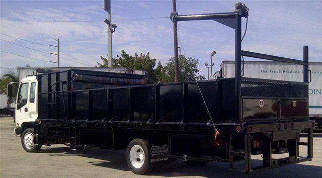 2018 ADVANCED FABRICATORS 18F24S.6D 18FT STEEL FLATBED WITH 24IN SIDES .6FT SIDE DUMPE - 15289511 - 6