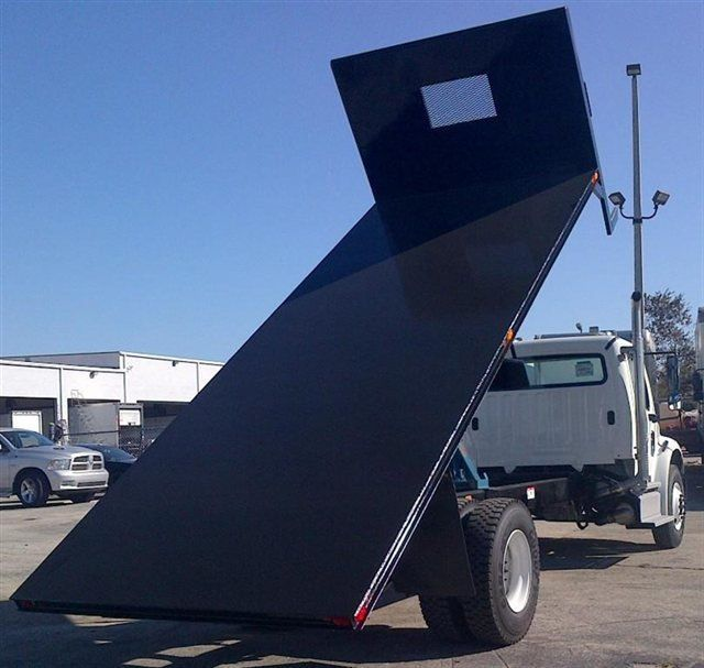 2018 ADVANCED FABRICATORS 20FB96D ..20FT STEEL FLATBED DUMP 96IN WIDE - 15289499 - 1