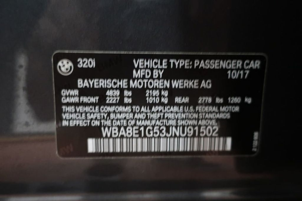 2018 BMW 3 Series 320i - 17176029 - 32