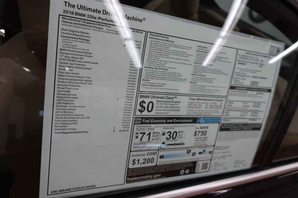 2018 BMW 3 Series 330e iPerformance Plug-In Hybrid - 16773274 - 44