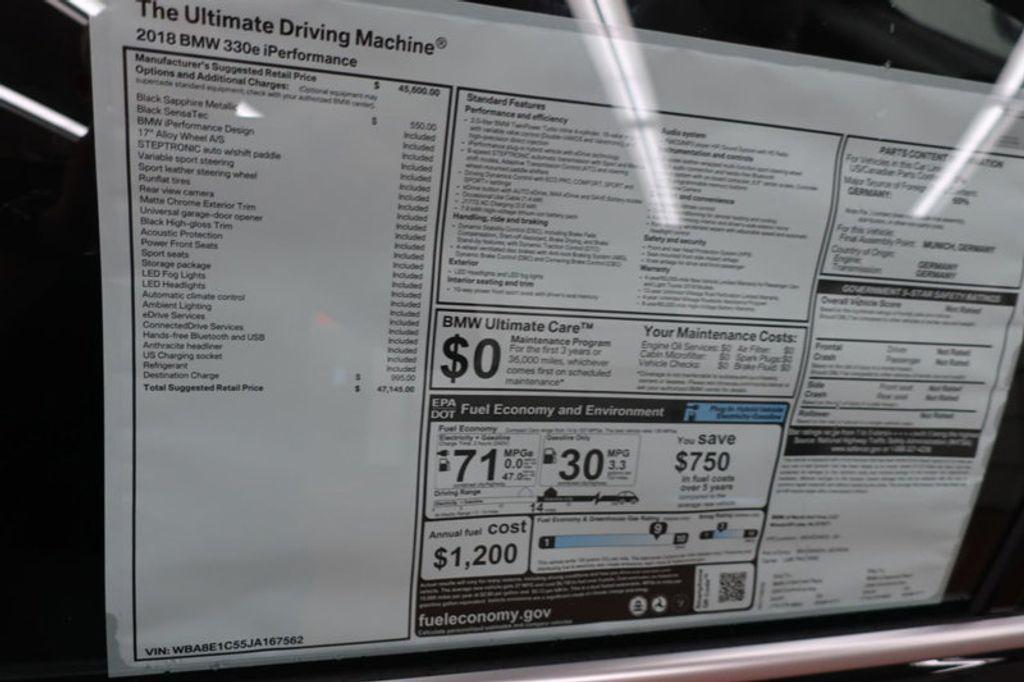 2018 BMW 3 Series 330e iPerformance Plug-In Hybrid - 16791448 - 40