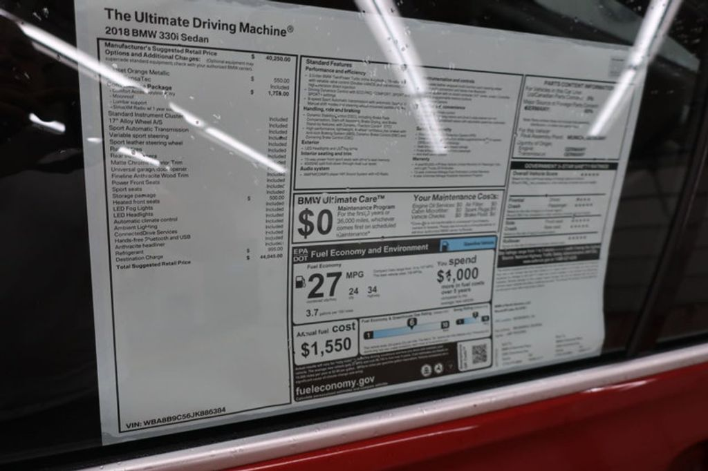 2018 BMW 3 Series 330i - 16727817 - 43