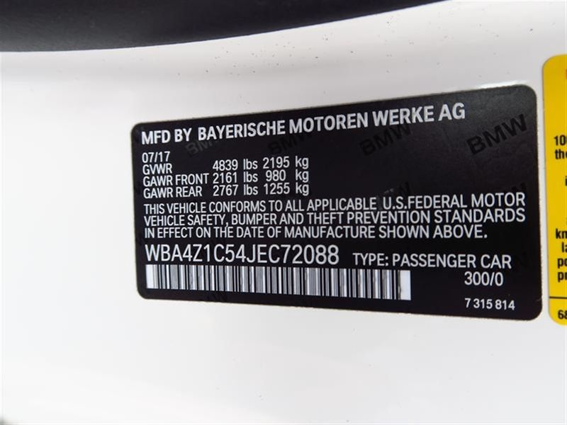 2018 BMW 4 Series 430i Convertible Not Specified - WBA4Z1C54JEC72088 - 10