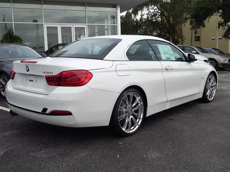 2018 BMW 4 Series 430i Convertible Not Specified - WBA4Z1C54JEC72088 - 2
