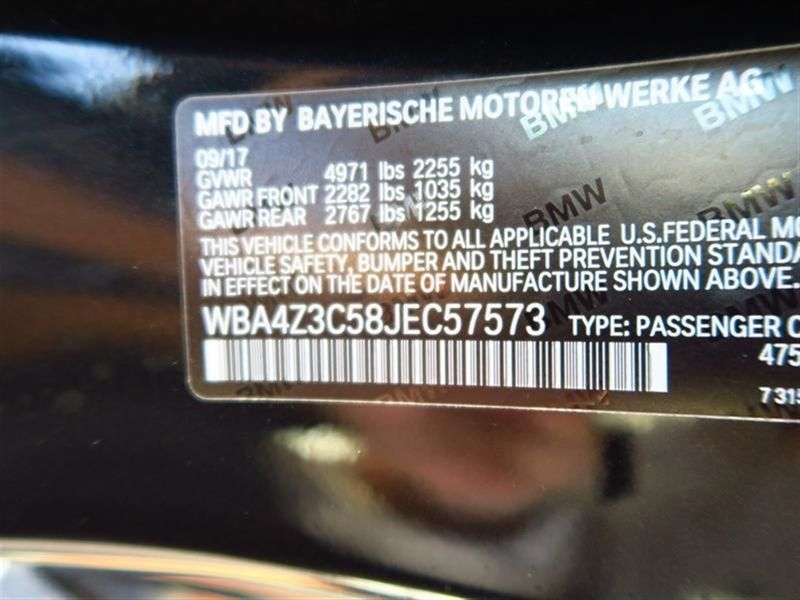 2018 BMW 4 Series 430i xDrive Convertible Not Specified - WBA4Z3C58JEC57573 - 10