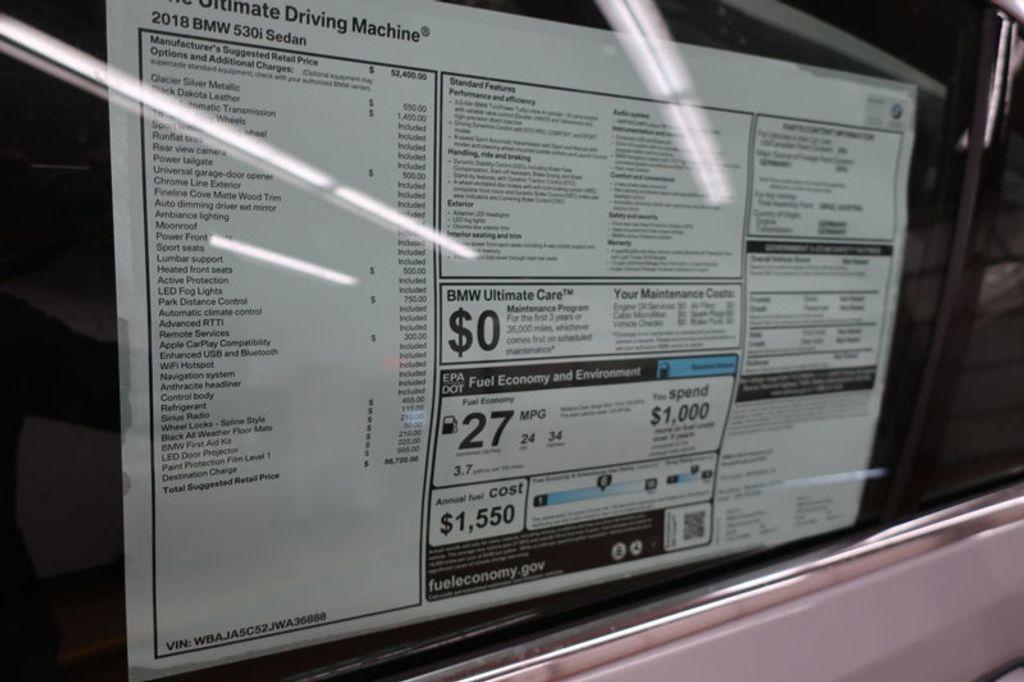 2018 BMW 5 Series 530i - 17172131 - 34