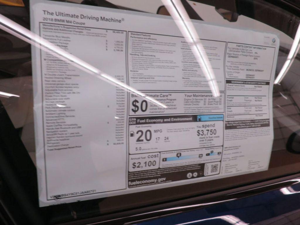 2018 BMW M4 18 BMW M4 CPE 2DR CPE - 16355413 - 23