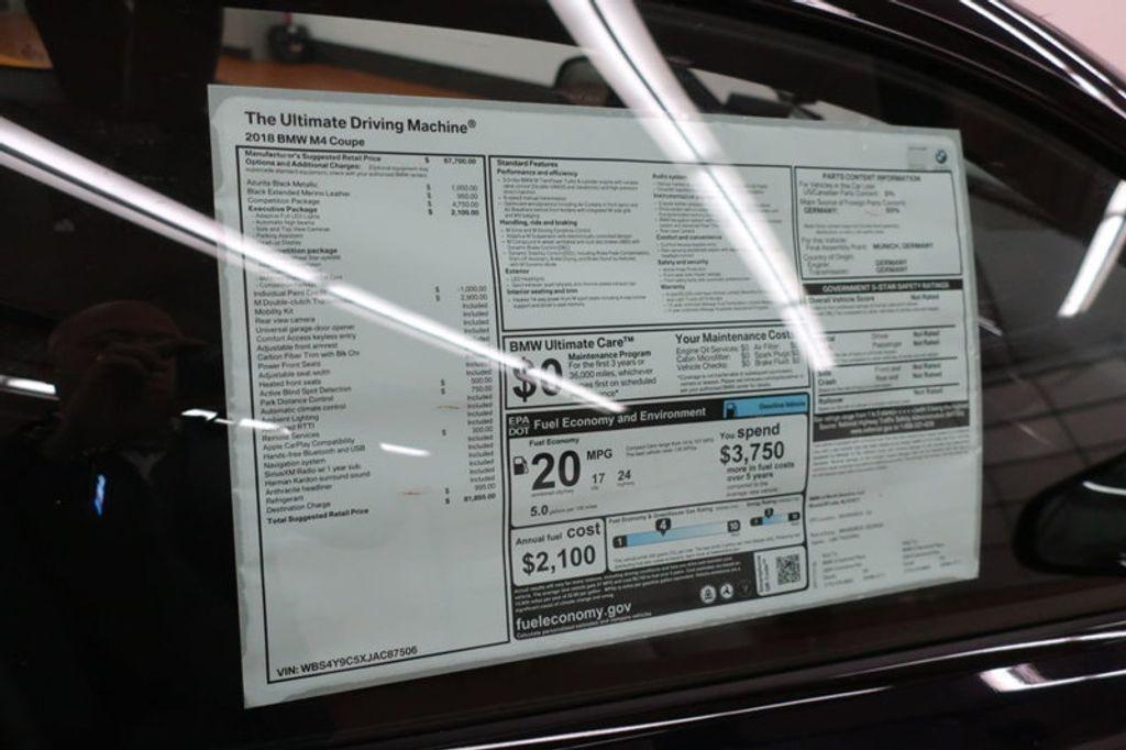 2018 BMW M4 CPE 2DR CPE - 17251245 - 26