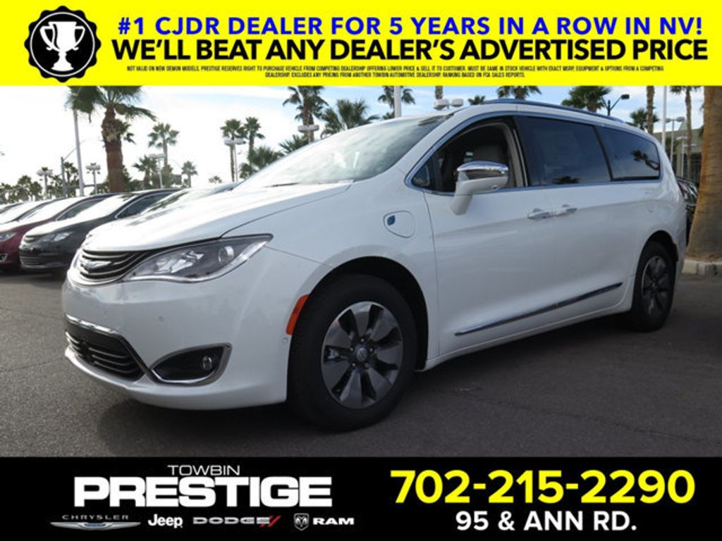 2018 Chrysler Pacifica Hybrid Limited FWD - 17161635 - 0